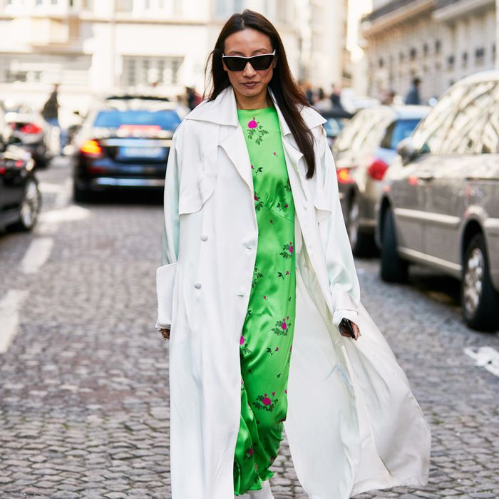 Floral Easter Dress Street Style
