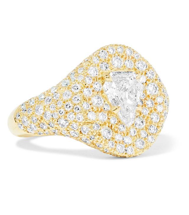 Jemma Wynne 18-Karat Gold Diamond Ring