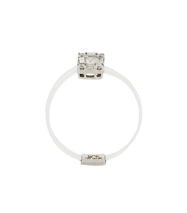 Sarah Noor Clear Band Ring