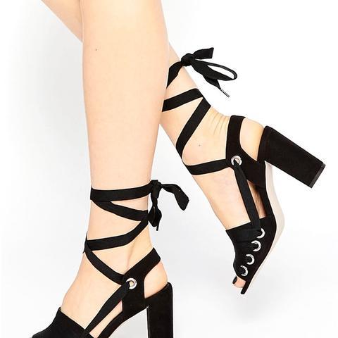 Hangman Heeled Sandals