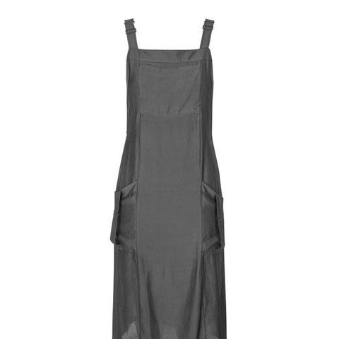 Utility Dungaree Dress