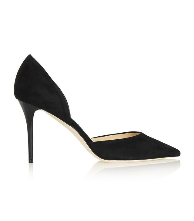 Jimmy Choo Addison Suede Pumps