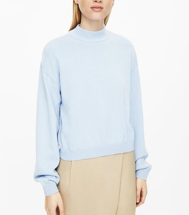 COS High-Neck Jumper