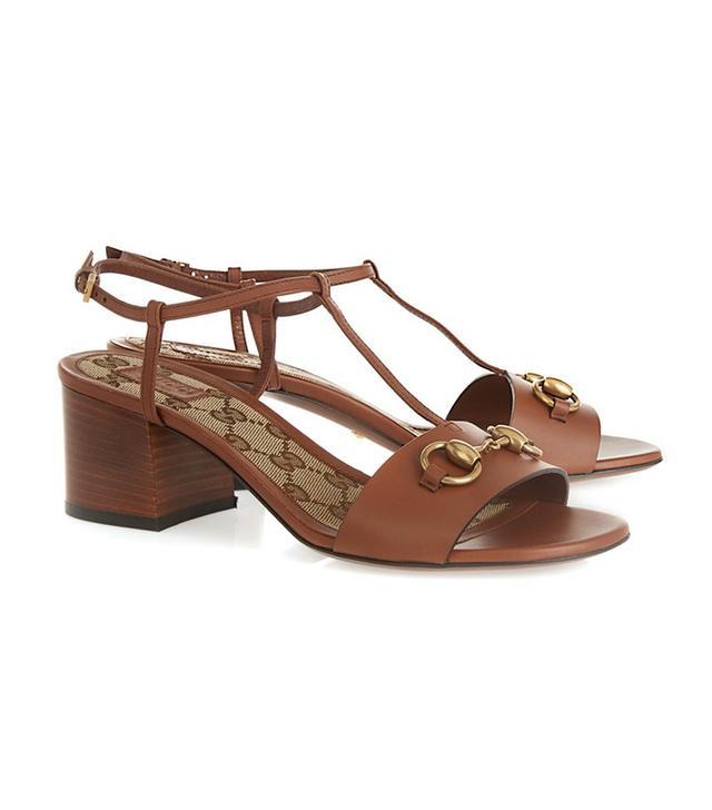 Gucci Horsebit-Detailed Leather Sandals