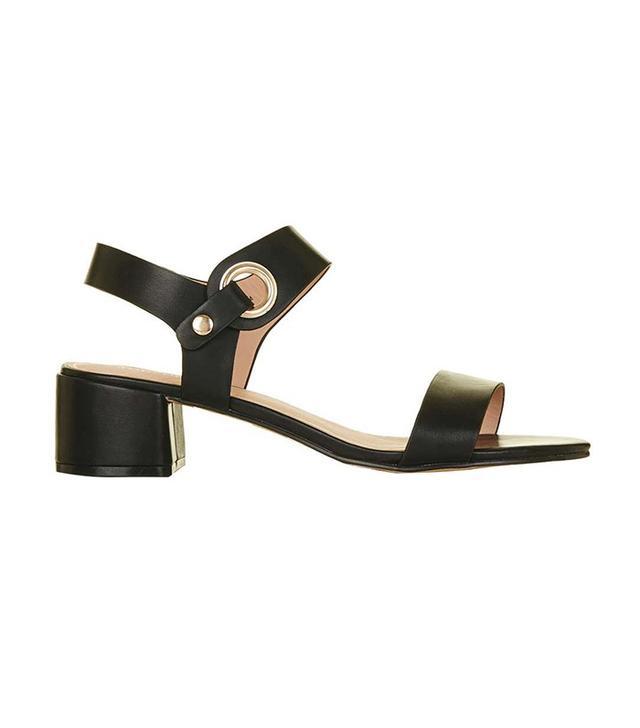 Topshop Dart Two-Part Sandals