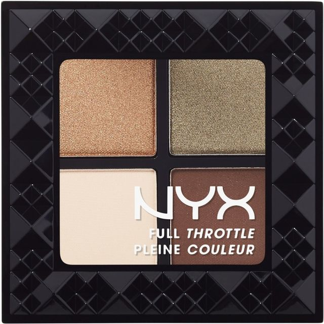 NYX Cosmetics Full Throttle Shadow Palette in Easy on the Eyes