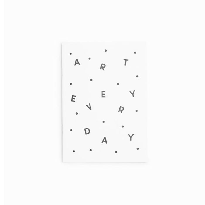 Art Every Day Notebook by Poketo