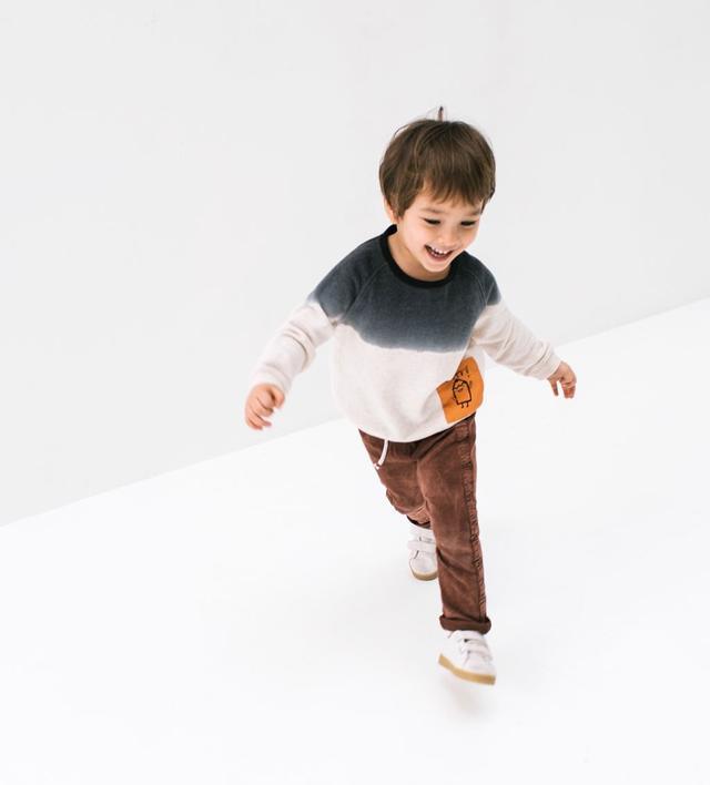 Zara Ombré Sweatshirt With Pockets