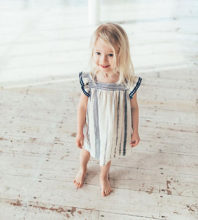 Zara Fabric Stripe Dress