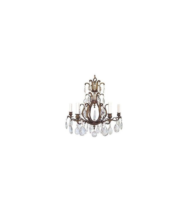 Chairish Swedish 1950s Crystal Chandelier