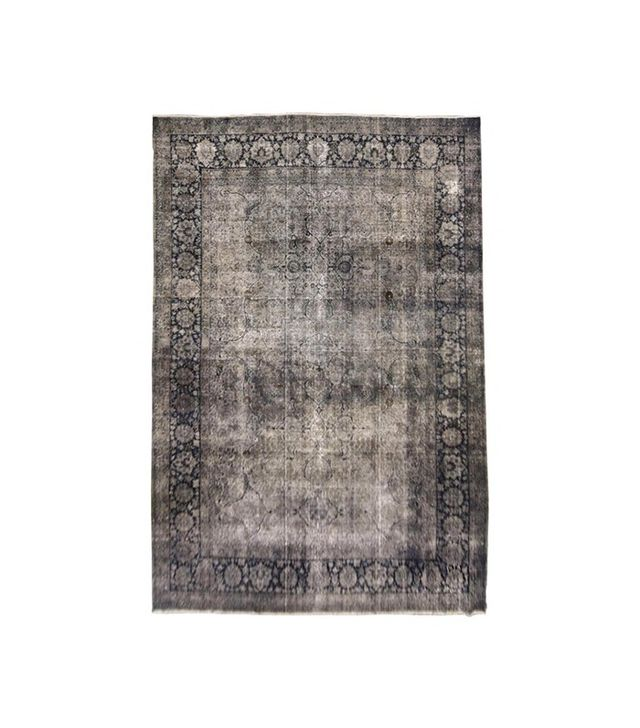 Woven Accents Over-Dyed Distressed Rug
