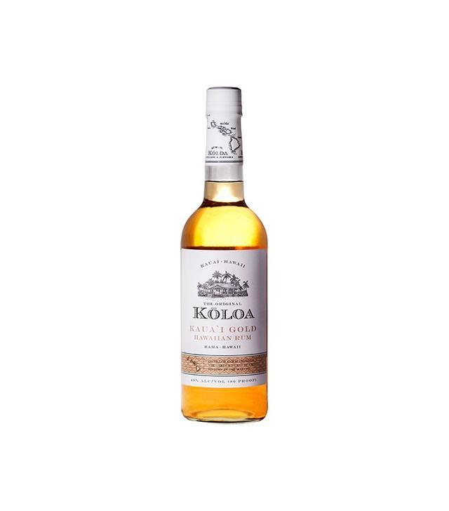 Koloa Kaua'i Kaua'i Gold Hawaiian Rum