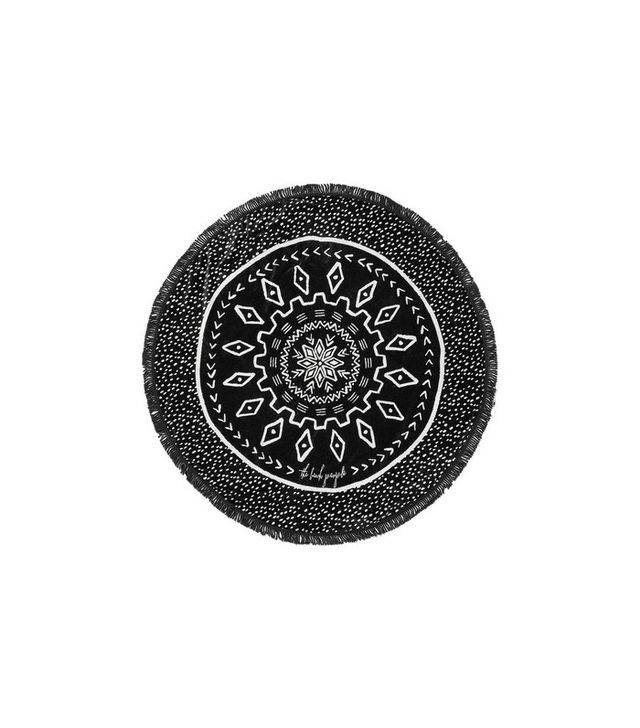 The Beach People The Dreamtime Round Woven Cotton-Terry Towel