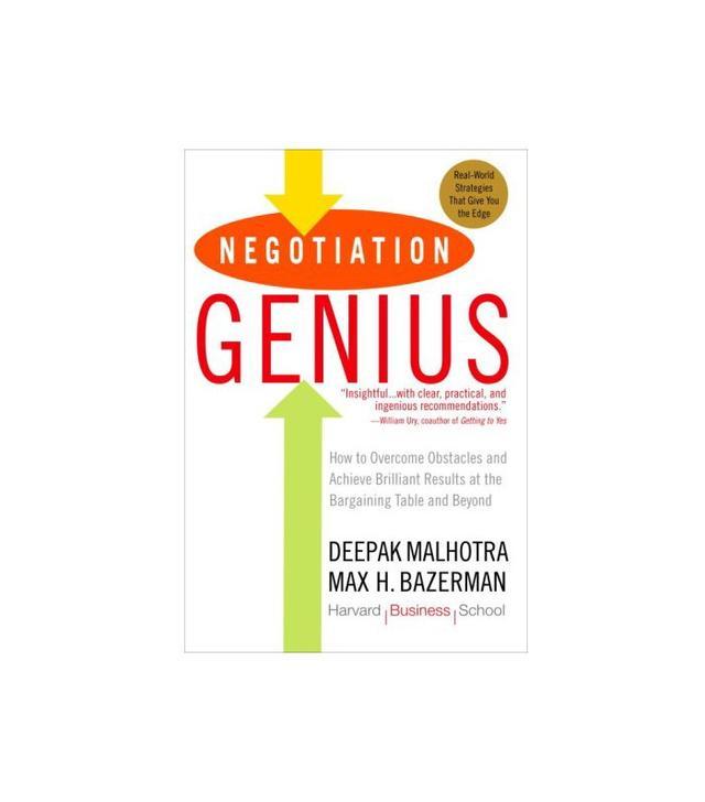 Negotiation Genius by Deepak Malhotra