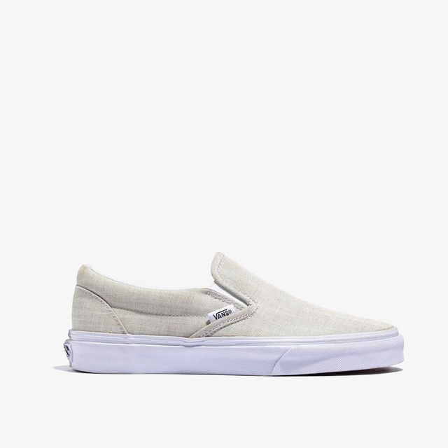 Vans Linen Slip-On Sneakers