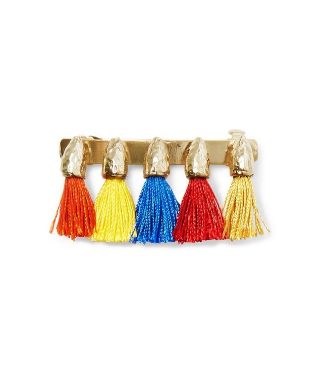 Rosantica Teatro Tasseled Gold-Tone Hairclip