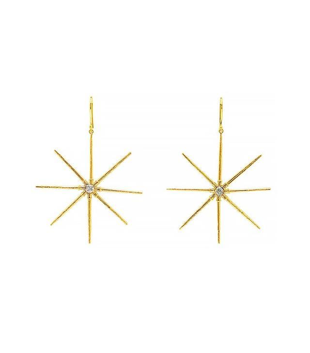 Elisabeth Bell Sea Urchin Star Earrings