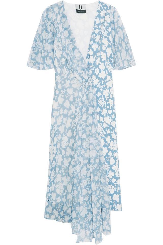 Topshop Unique Balfour Printed Dress