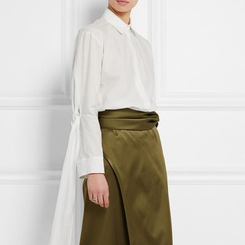 Lyla Cotton-Poplin Shirt