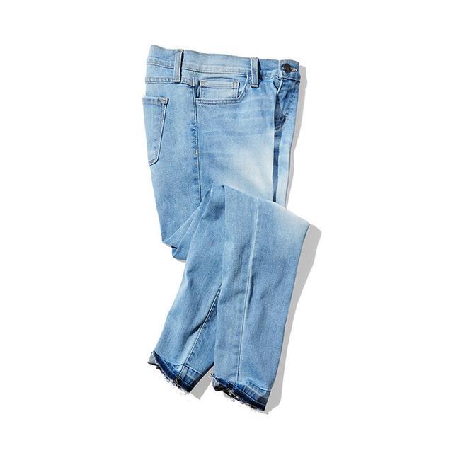 Flying Monkey Knee Slit Skinny Jeans