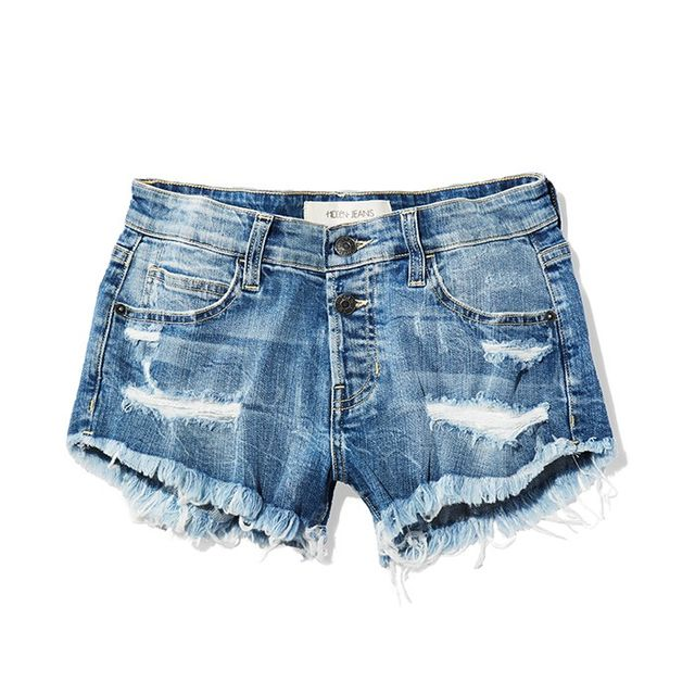 Hidden Jeans The Kenzie Distressed Cutoff Shorts