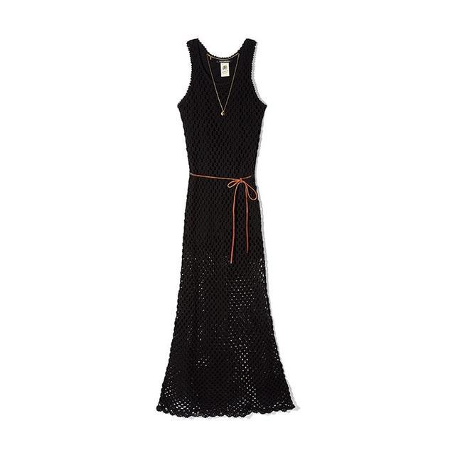 Scotch & Soda Crochet Maxi Dress