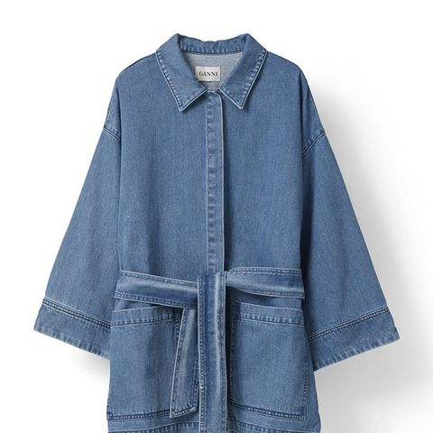 Wayne Denim Coat