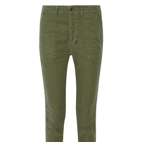 The Slouch Armies Twill Tapered Pants