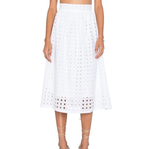 Vernon Eyelet Skirt