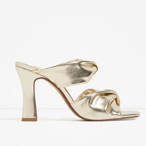 Tubular Strappy High Heel Shoes