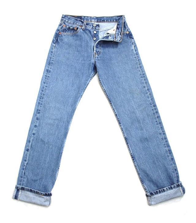 Vintage Levi's 501 Vintage High Waist Denim Jeans