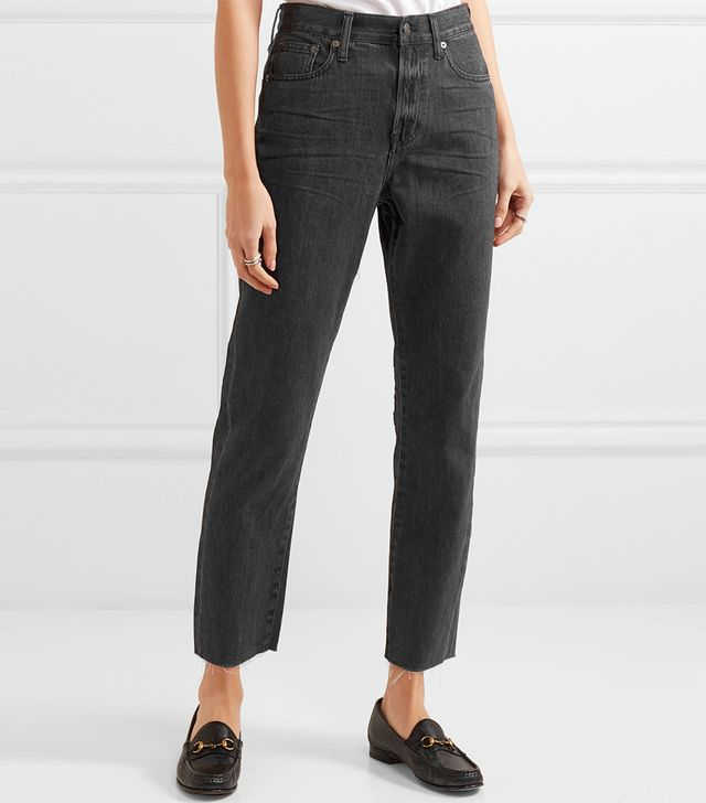 The Perfect Summer Cropped High-Rise Jeans