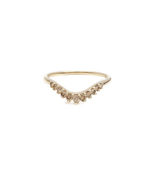 Anna Sheffield Tiara Curve Band