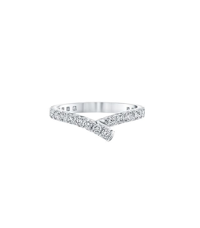 Harry Winston Ribbon Diamond Wedding Band
