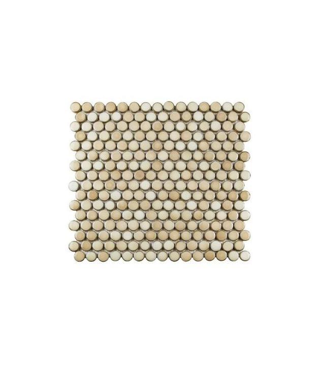 Home Depot Hudson Penny Round Porcelain Mosaic Tile