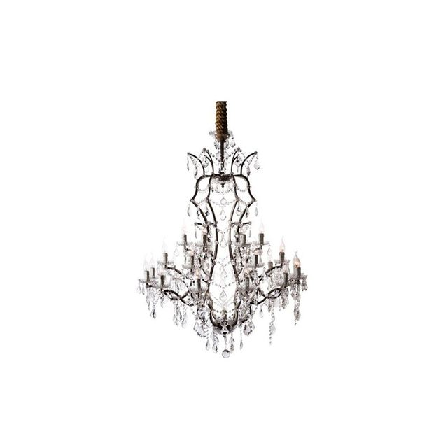 Timothy Oulton Crystal Chandelier