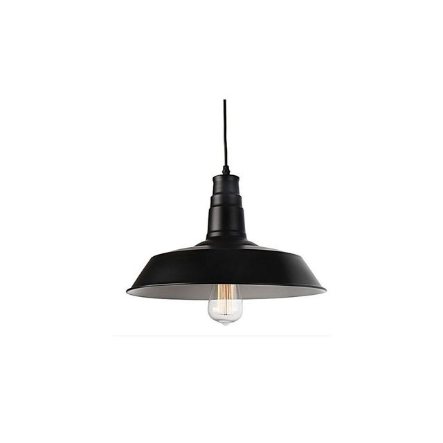 Amonson Lighting Industrial Steel Pendant Light