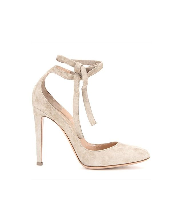 Gianvito Rossi Carla High Suede Pumps