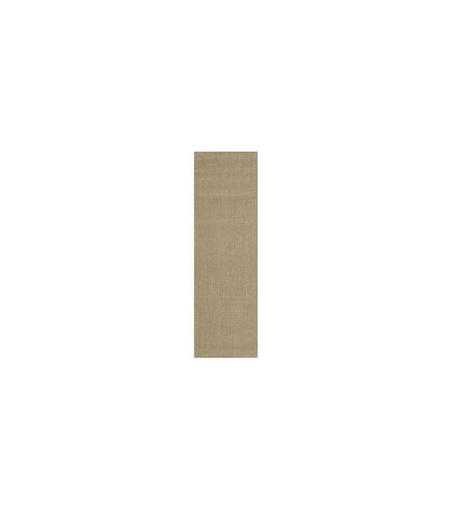 Crate and Barrel Sisal Almond Rug Runner