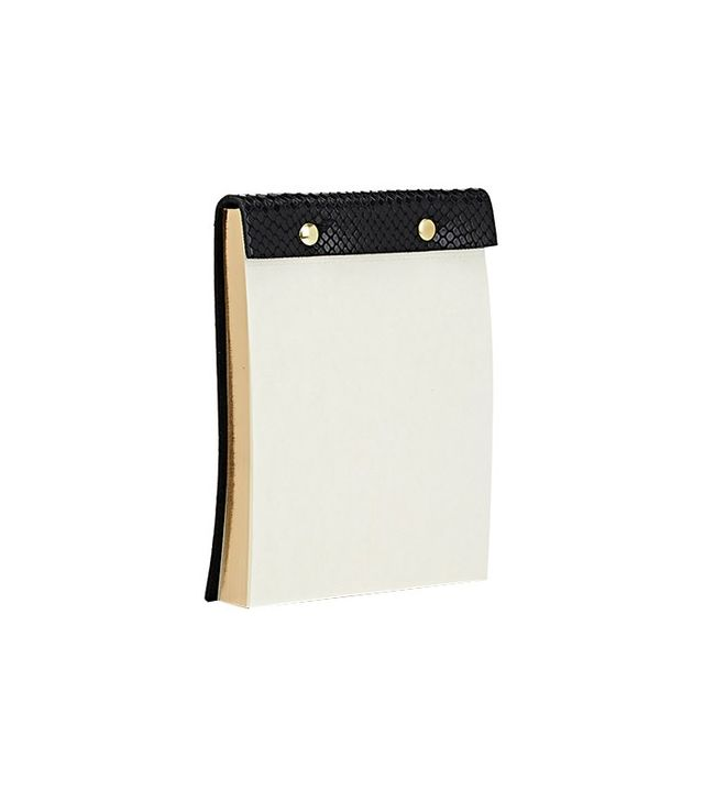Barneys New York Leather-Bound Notebook