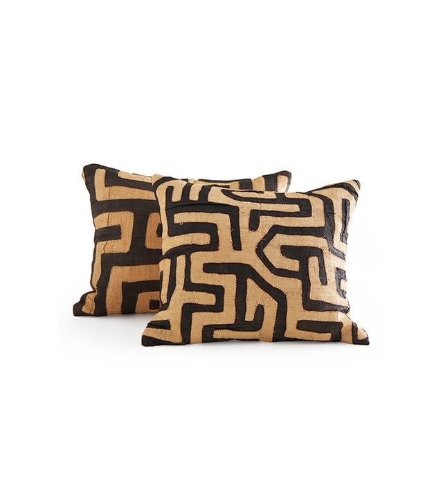 Wisteria Kuba Cloth Pillow
