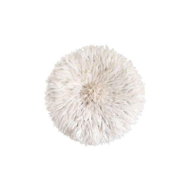Table Tonic Large Bamileke Feather Juju Hat