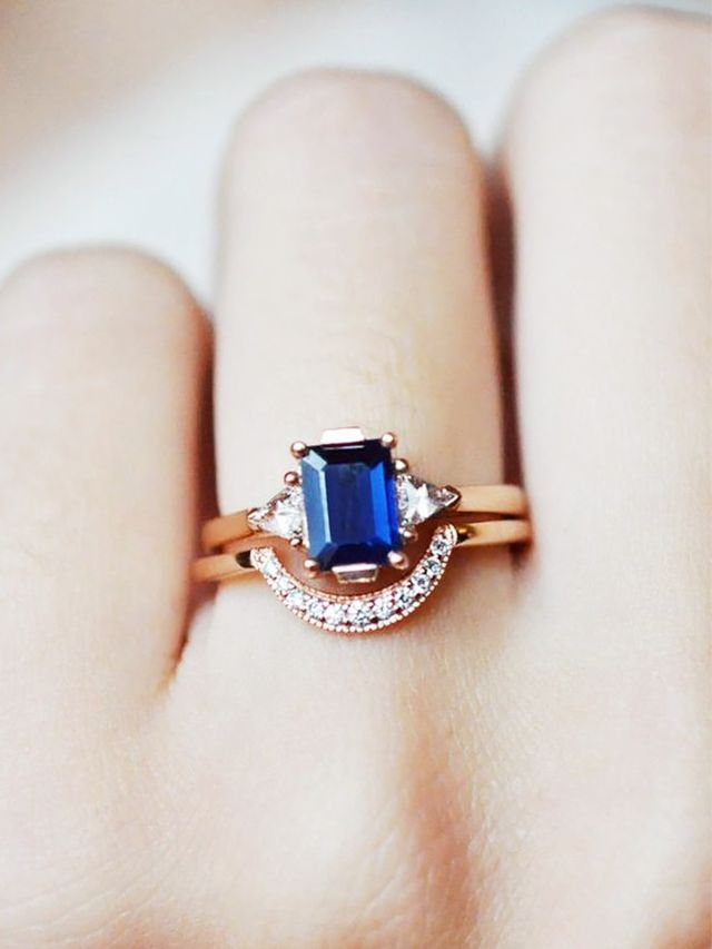 How To Choose The Best Wedding Band For Your Engagement Ring Whowhatwear Au
