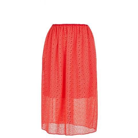 Diffusion Eyelet Pull-On Skirt
