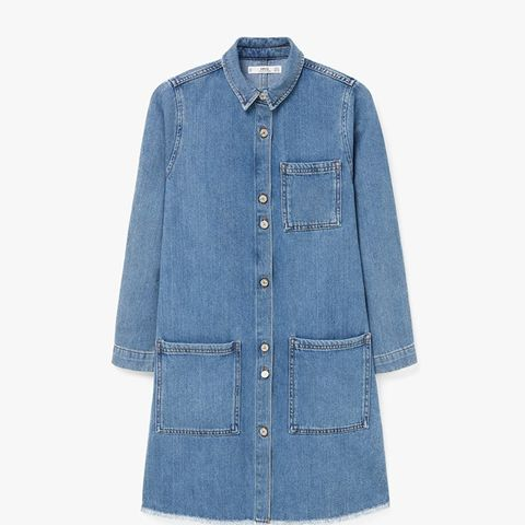 Pocket Denim Dress