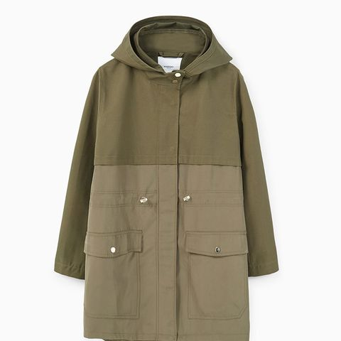 Casual Hooded Parka