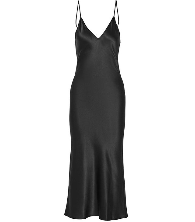 Protagonist Silk-Satin Midi Dress