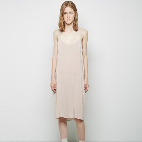 Modern Portrait Slip Dress