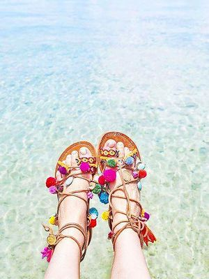 16 Sandals That Are Basically a Party on Your Feet