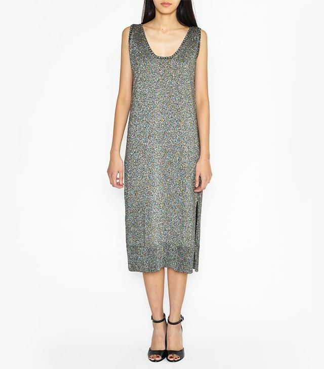 Rachel Comey Lurex Knit Tank Dress